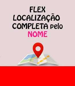 Flex Localizacao CPF pelo Nome