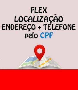 Flex Localização Endereço Telefone CPF