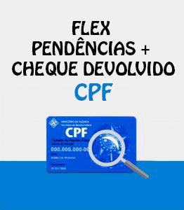 Flex Pendencias CCF CPF