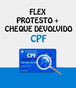 Flex Protesto CCF CPF