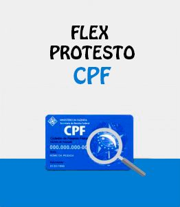Flex Protesto CPF