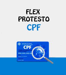 Flex Protesto CPF