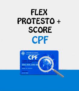 Flex Protesto Score CPF